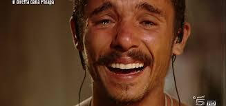 Moreno in lacrime a l'Isola dei Famosi