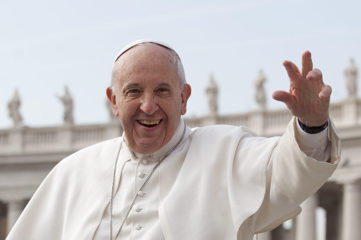 """Bergoglio: """"L'Italia ha un cuore generoso!"""""""