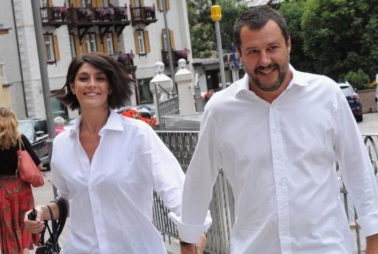 Salvini commenta la sua rottura con Elisa Isoardi